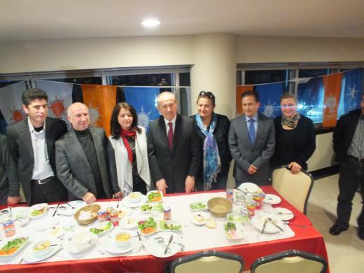 Topbaş,Tuzla'da Dernek Başkanlarıyla Buluştu.