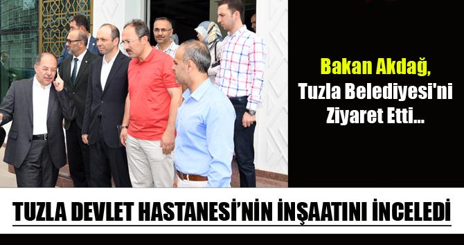 Bakan Akdağ, Tuzla Belediyesi'ni Ziyaret Etti…