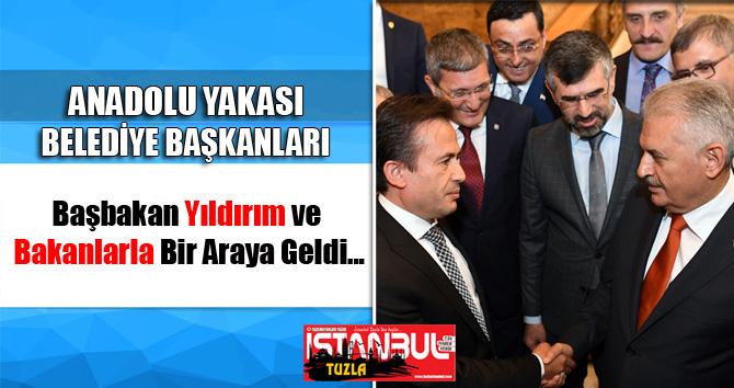 Başkanlar, Başbakan Yıldırım'la Bir Araya Geldi...