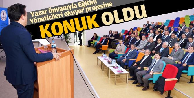 Başkan Yazıcı 'Tuzla'da Eğitim Yöneticileri Okuyor'a' konuk oldu.