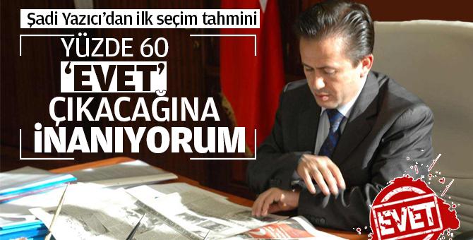 Başkan Yazıcı'dan Referandum Tahmini: Tuzla'da Yüzde 60 üzerinde oy çıkar...