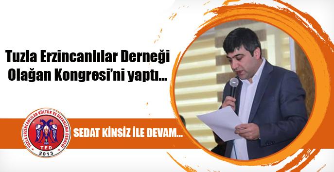 """Tuzla Erzincanlılar Sedat Kinsiz ile """"Devam""""…"""