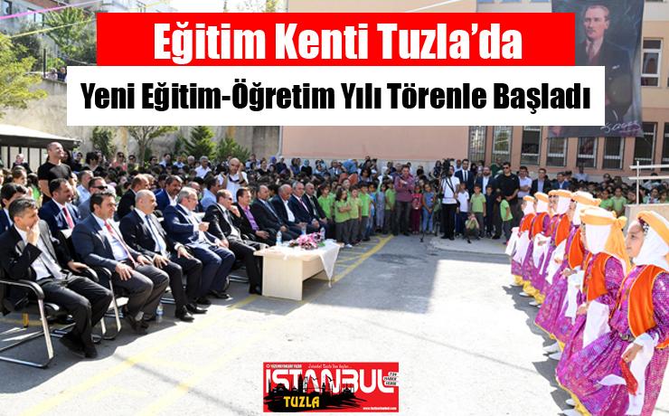 Tuzla'da Yeni Eğitim-Öğretim Yılı Törenle Başladı...