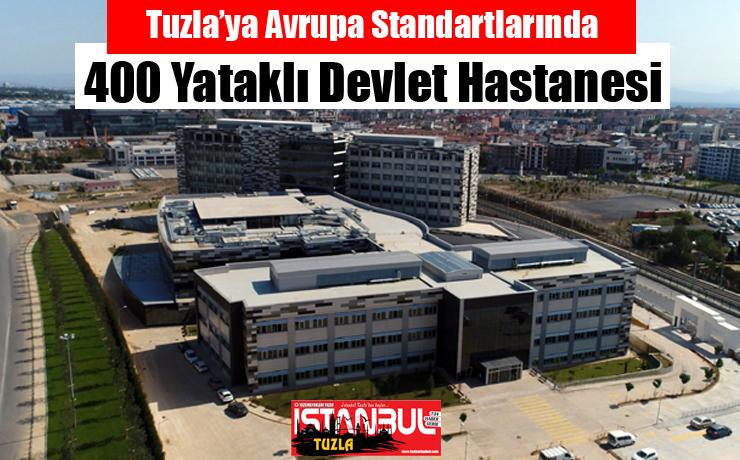 Tuzla'ya Avrupa Standartlarında Devlet Hastanesi…