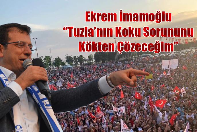 """Ekrem İmamoğlu """"Tuzlanın Koku Sorununu Kökünden Çözeceğim""""..."""