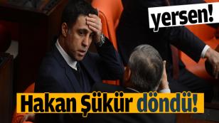 Hakan Şükür Döndü!