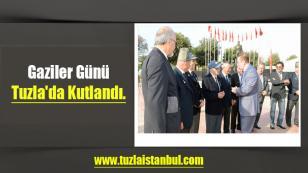 Gaziler Günü Tuzla'da kutlandı.
