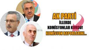 AK Parti 15 Temmuz darbe girişiminin ardından İllerde komisyonlar kurdu.