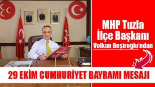 MHP Tuzla'dan 29 Ekim Cumhuriyet Bayramı Mesajı