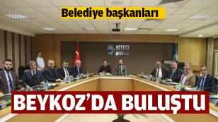 Belediye başkanları bu kez Beykoz'da Buluştu...
