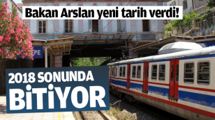 Bakan Arslan: Banliyö hattı 2018 sonunda bitiyor...