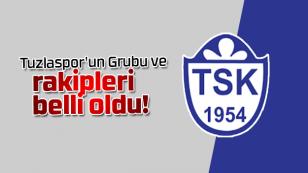 Tuzlaspor'un Grubu ve Rakipleri Belli Oldu...