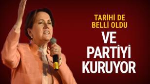 Meral Akşener yeni partiyle geliyor...