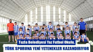 Tuzla Belediyesi Yaz Futbol Okulu'ndan, Türk Sporuna Yeni Yetenekler...