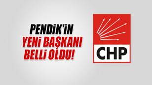 CHP Pendik'in yeni ilçe başkanı belli oldu...