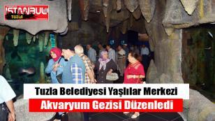 Tuzla Belediyesi Yaşlılar Merkezinden Akvaryum Gezisi…