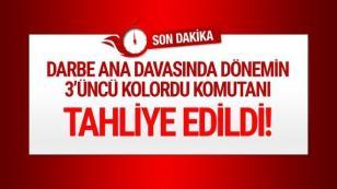 Korgeneral Erdal Öztürk'e tahliye...