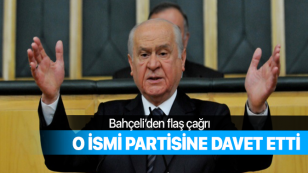 MHP Liderinden flaş çağrı...