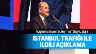 Bakan Soylu'dan İstanbul trafiği açıklaması: Zabıtalarla çalışacağız...