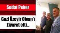 Sedat Peker Gazi Üzeyir Civan'ı ziyaret etti…