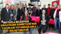 Tuzla Belediyesi, Kıraathane Sohbetleri'nde Yazarları Vatandaşlarla Buluşturuyor.