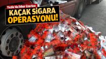 Tuzla'da 3 bin 242 karton kaçak sigara ele geçirildi!