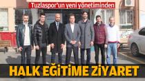 Tuzlaspor'un yeni yönetiminden Halk Eğitime Ziyaret...
