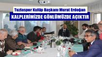 Tuzlaspor Başkanı Murat Erdoğan