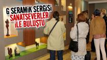 Tuzla'da G Seramik Sergisi Sanatseverler ile Buluştu...