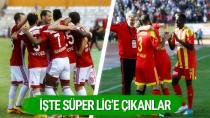 Süper Lig'e çıkan 2 takım belli oldu...