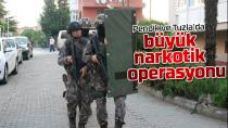 Pendik ve Tuzla'da Narkotik Operasyonu...
