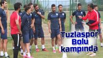 Tuzlaspor Bolu'da Kampa Girdi...