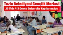 Tuzla Belediyesi, 412 Gence Üniversite Kapısını araladı...
