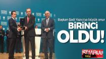 Cumhurbaşkanı Erdoğan'dan Başkan Şadi Yazıcı'ya, büyük ödül.