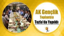 AK Gençlik Toplantısı Tuzla'da Yapıldı...