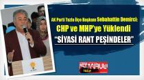 """AK Parti Tuzla İlçe Başkanı Sebahattin Demirci, CHP ve MHP'ye yüklendi  """"Siyasi Rant Peşindeler"""""""
