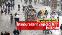İstanbul'a Karın Yağacağı Tarih Belli Oldu...