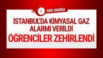 Sultanbeyli'de kimyasal gaz alarmı! 6 öğrenci zehirlendi