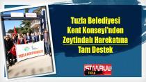 Tuzla Belediyesi Kent Konseyi'nden Zeytindalı Harekatına Destek