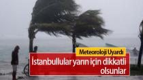 Marmara Bölgesi'nde Fırtına Bekleniyor...
