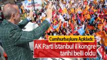 AK Parti İstanbul İl Kongre Tarihi Belli Oldu…