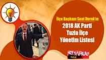 AK Parti Tuzla'da İlçe Başkanı Suat Durak oldu…