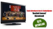 Tuzla Belediyesi'nin Ev Sahipliğinde Dostluk Konseri…