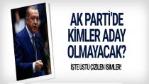 AK Parti'nin 24 Haziran'da aday göstermeyeceği isimler…