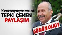 İYİ Parti Tuzla İlçe Başkanı Recep Karaot'tan Şok Paylaşım…