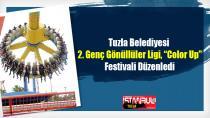 """Tuzla Belediyesinden 2. Genç Gönüllüler Ligi, """"Color Up"""" Festivali"""