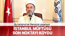 Her Ramazan yaşanan 'hilal' tartışmasına İstanbul Müftüsü açıklık getirdi.