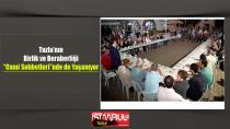 """Tuzla'da Birlik ve Beraberlik """"Cami Sohbetleri""""nde de Yaşanıyor"""