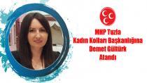 MHP Tuzla Kadın Kolları Başkanlığına Demet Gültürk Atandı