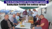 Tuzla Su Ürünleri Kooperatifi Başkanı Celal Tülü'den yönetim kurul üyelerine yemek…